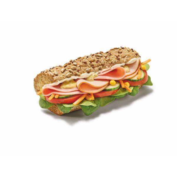 Turkey & Ham Sandwich
