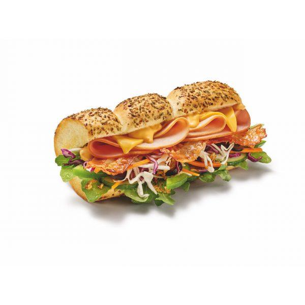 Turkey, Ham & Bacon Melt Sandwich