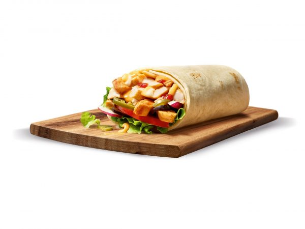 Chili Chicken Wrap