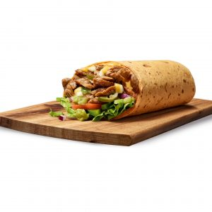 Philly Beef & Guacamole Wrap