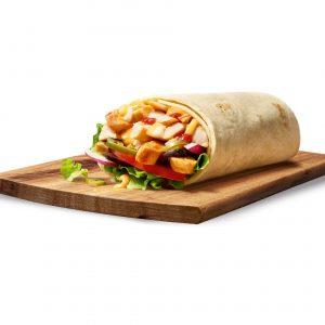 Chili Chicken Wrap
